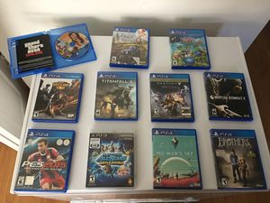 PS4 Games /1 PS3 game for Sale in Boston, MA