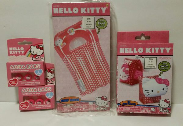 Hello Kitty Lot of 4 Swimming Items