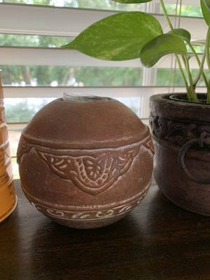ceramic candle holder from Mexico for Sale in Raleigh, NC