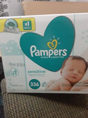 Pampers wipes 336 for Sale in Stone Mountain, GA