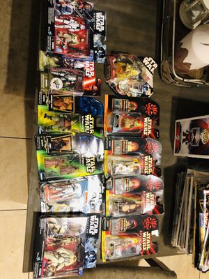 Star Wars lot of 3.75 action figures for Sale in Union City, NJ