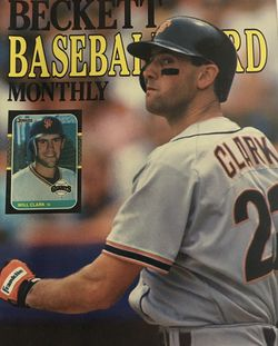 Beckett July 1989 issue #52, Front Cover Will Clark, Back Cover Ernie Banks. for Sale in Boston,  MA