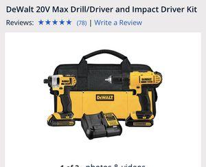 Dewalt max drill/driver for Sale in Austin, TX