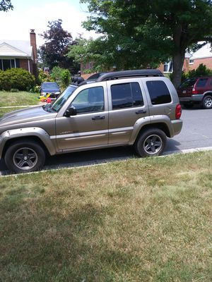 Jeep liberty renegate 2003 for Sale in Silver Spring, MD