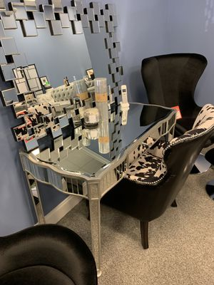 Elegant 3 piece desk, chair! 650 takes both. {Worth $1500} for Sale in Atlanta, GA
