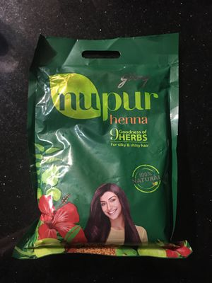 Nupur 100% Natural Henna (400g) for Sale in Austin, TX