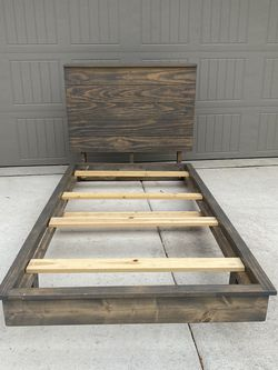 Custom Twin Wood Bed Frame for Sale in Georgetown,  TX