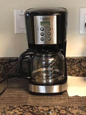 CAPRESSO 12-CUP DRIP COFFEE MAKER WITH GLASS CARAFE for Sale in Kensington, MD