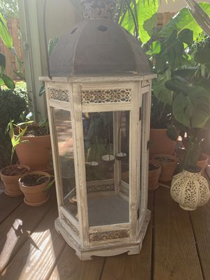 Rustic outdoor candle holder (Doral) for Sale in Miami, FL