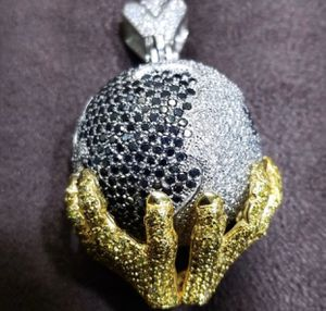 14k Gold- Diamond - Globe pendant for Sale in The Bronx, NY