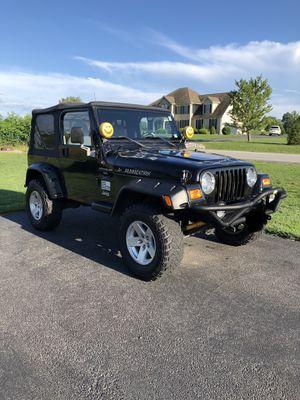 1997 Jeep Wrangler TJ 4.0 manual trans for Sale in Sudley Springs, VA