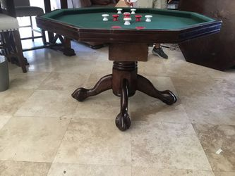 Vintage Wooden Poker Bumper Pool Game Table for Sale in San Diego,  CA