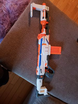 Nerf assault gun no soft bullets for Sale in Bridgewater, MA