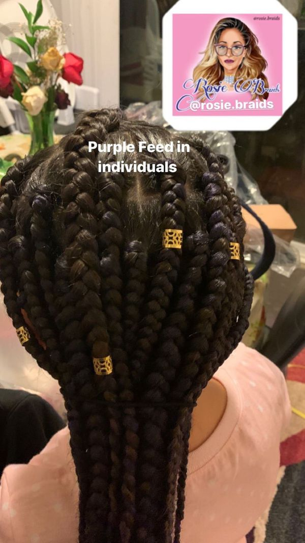 Need your hair Braided? Message me for inquiries.