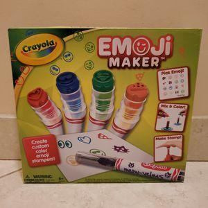 Emoji Maker Stamp Set By Crayola for Sale in Hollywood, FL