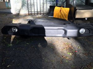 Jeep Wrangler Front bumper and grill for Sale in Everett, MA