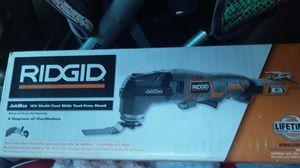 Ridgid 18 v multi tool for Sale in San Bernardino, CA