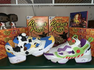 DS Reebok x Bait x Toy Story Instapump Fury Size 10.5 for Sale in Grove City, OH