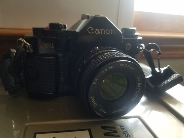 Vintage A1 Canon Camera with Accessories & Case