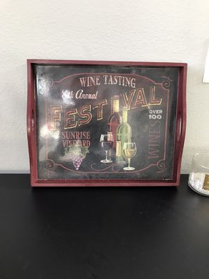 Wine Tray Decoration for Sale in Lakewood, CO