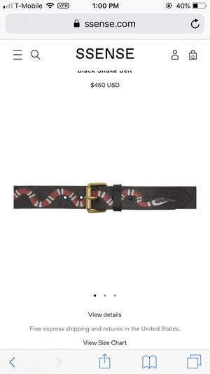 Brand Gucci belt for 200$ for Sale in Taylorsville, UT