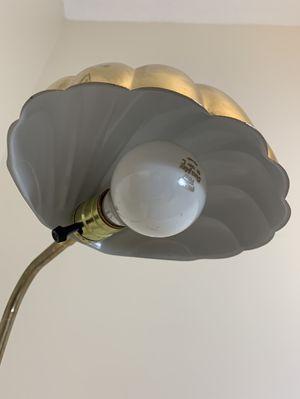 Vintage Brass Clam Lamp - Petite 3' - 4' for Sale in Boca Raton, FL