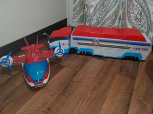 Paw Patrol Plane, Patroller, Vehicles & figures for Sale in Lynnwood, WA