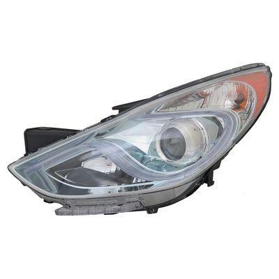 2011-2015 HYUNDAI SONATA HYBRID HEADLIGHT ASSEMBLY HALOGEN LED RIGHT SIDE USED OEM 692