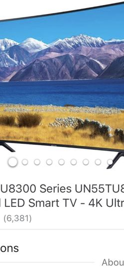 55 Inch Samsung Curved Tv for Sale in Norwalk,  CA