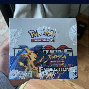 Pokemon XY Evolutions Booster Box for Sale in Pleasant Hill, CA
