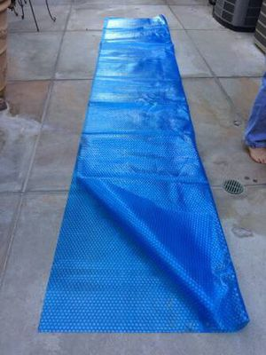 """Blue Solar Pool Cover - 5' x 13'4"""" - New/Unused for Sale in Los Angeles, CA"""