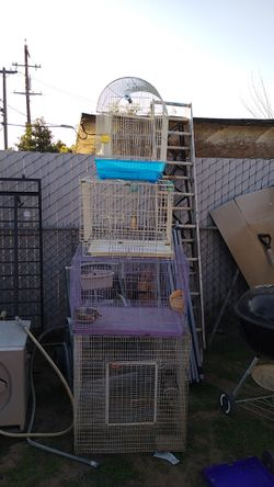 Four bird cages for Sale in Fresno,  CA