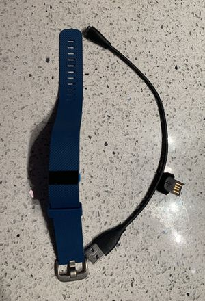 Fitbit Charge Hr Blue for Sale in Houston, TX