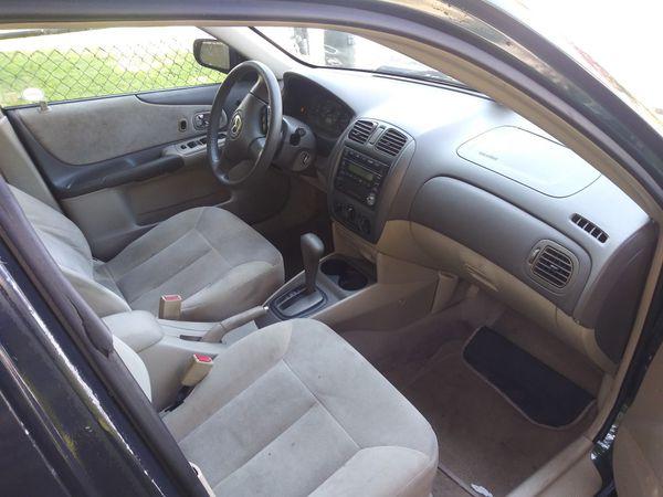 2002 Mazda Protege LX 108 k miles all power 4 cylinfree 34 miles per gallon