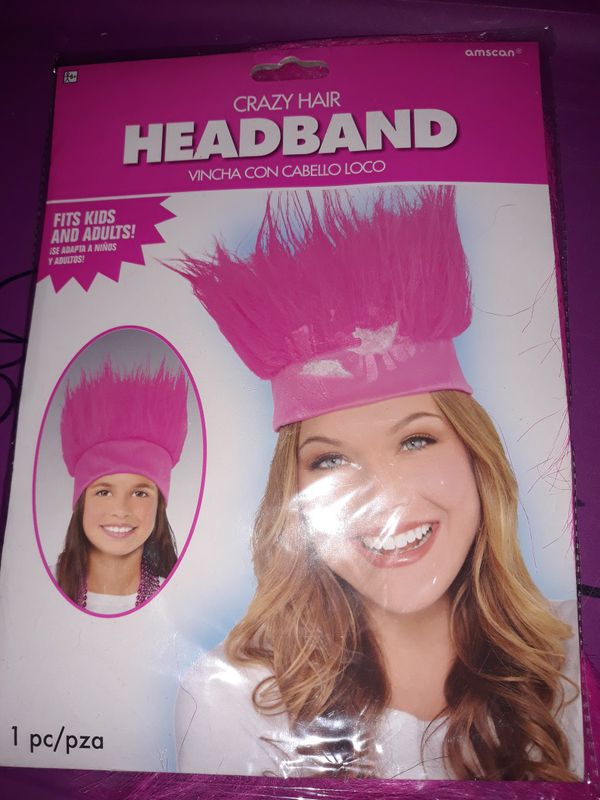 Pink head band hat new