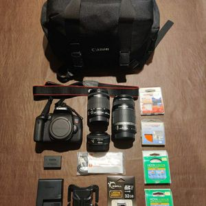 Canon Rebel T6i (750D) Kit for Sale in Germantown, MD