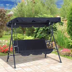 3 seat swing with cover for Sale in Norcross, GA