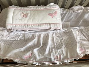Crib skirt and bumper for Sale in St. Charles, IL