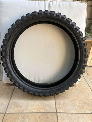 Kenda Big Block Motorcycle FRONT Tire for Sale in North Hollywood, CA