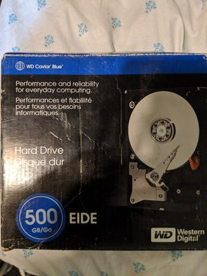WD Cavier blue 500 gb for Sale in Westminster, CO