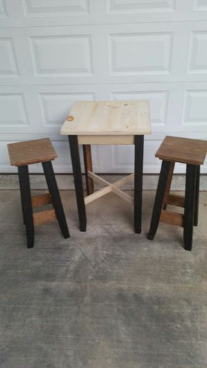 Patio table and stools for Sale in Manchester, MD