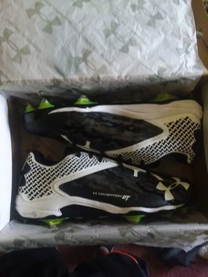 Under Armour cleats for Sale in Mount Hope, KS