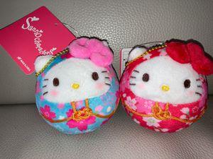 Hello Kitty Daruma Doll Keychain plushie for Sale in San Diego, CA