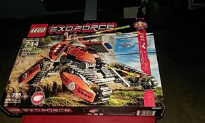 Lego Exo Force Transforming tank Good Condition all parts and Figures included as well as instruction book for Sale in Sunbury, OH