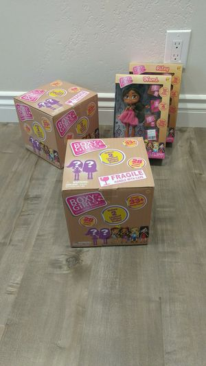 Dolls for girl. Boxy girls. Barbie like. With accessories. for Sale in Citrus Heights, CA