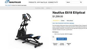 Nautilus E618 Elliptical brand new in the box for Sale in Lafayette, CA