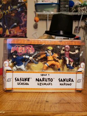 "Official Mattel Naruto Figures - Naruto, Sasuke, Sakura 2.5"" for Sale in Los Angeles, CA"