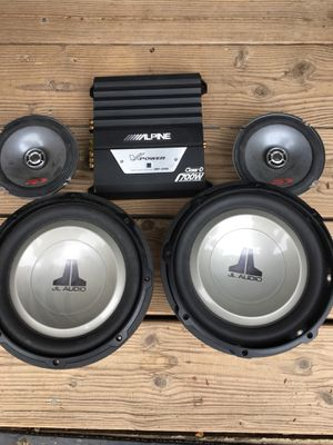 JL Audio system/ MAKE An OFFER/trade for Sale in El Cajon, CA