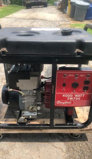 4000 watt generator for Sale in West Mifflin, PA