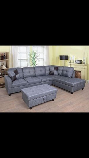 BRAND NEW SECTIONAL SOFA COUCH SET IN ORIGINAL BOX for Sale in Ontario, CA